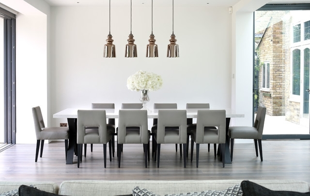 Photography Of Kew Kitchen – Contemporary – Dining Room – London In Contemporary Dining Tables (Image 22 of 25)