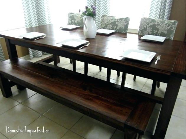 Picnic Dining Table Bench Style G Table Picnic Style G Table Bench With Indoor Picnic Style Dining Tables (Image 14 of 25)