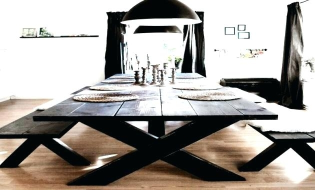 Picnic Dining Table Indoor Picnic Style Dining Table Latest Home Inside Indoor Picnic Style Dining Tables (Image 15 of 25)