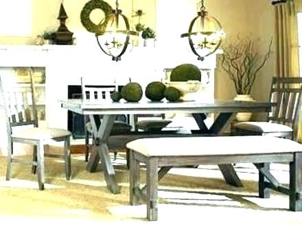Picnic Table Style Patio Furniture Picnic Style Table Indoor Picnic Intended For Indoor Picnic Style Dining Tables (Image 24 of 25)