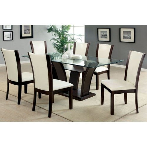 Pinbrandy Drinkard On Home Decor In 2018 | Pinterest | Dining Inside Wyatt 7 Piece Dining Sets With Celler Teal Chairs (Image 22 of 25)