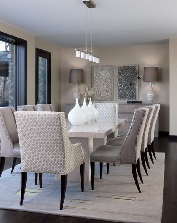 Pincarolyn Reed Cate On Home Decor/ideas | Pinterest | Dining With Regard To Contemporary Dining Room Tables And Chairs (View 11 of 25)