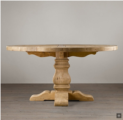 Pindecor Look Alikes On Restoration Hardware Look Alikes Inside Valencia 72 Inch Extension Trestle Dining Tables (Image 18 of 25)