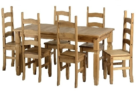 Pine And Other Dining Tables And Chairs – Cooks Furnishings, Carpets Intended For Rio Dining Tables (Image 13 of 25)