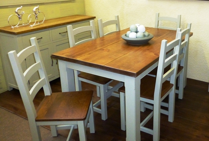 Pine Furniture Online, Pine Furniture Preston, Pine Dining Room In Beech Dining Tables And Chairs (View 11 of 25)