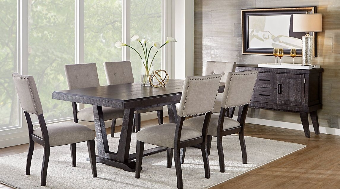 Pinethan Rose On Dining Table In 2018 | Pinterest | Dining Room With Palazzo 7 Piece Rectangle Dining Sets With Joss Side Chairs (View 3 of 25)