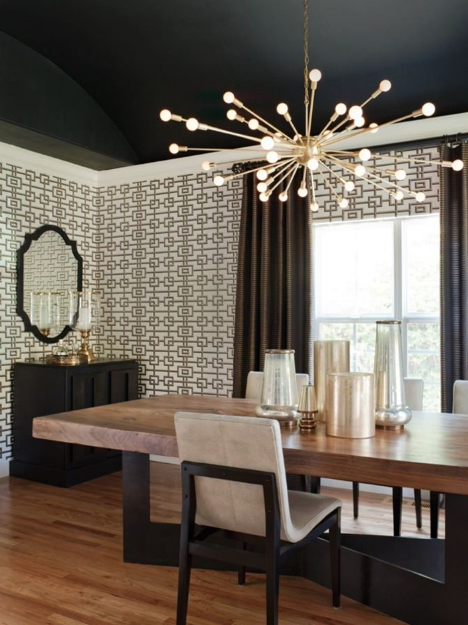 Pineva M On Mid Century Modern In 2018 | Pinterest | Dining Room With Lighting For Dining Tables (View 17 of 25)