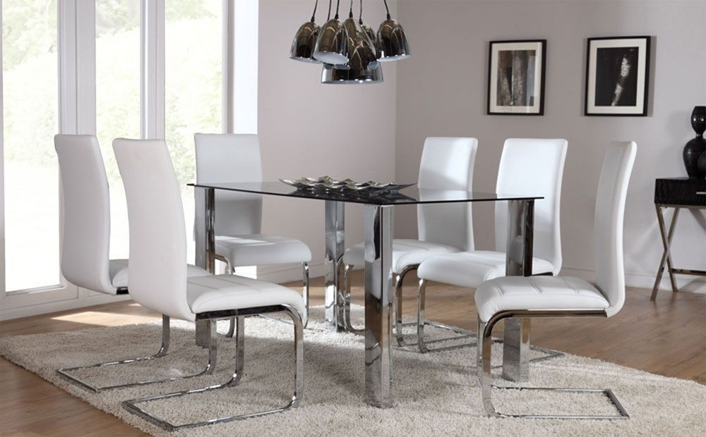 Pinfurniture Choice On Dining Sets | Pinterest | Dining, Dining With Regard To Perth Glass Dining Tables (View 10 of 25)
