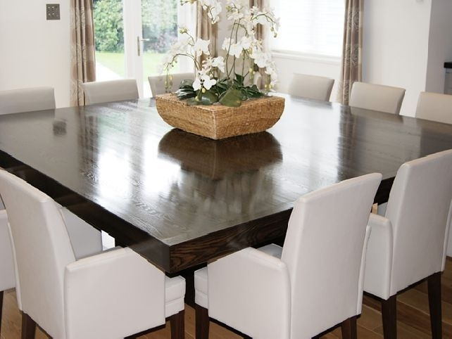Pinmarie Jimenez On Home Design In 2018 | Pinterest | Dining With Dark Wood Square Dining Tables (View 15 of 25)