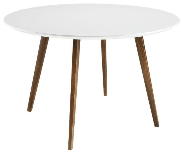 Pinsean Chaney On Furniture | Pinterest With Regard To Round White Dining Tables (View 25 of 25)