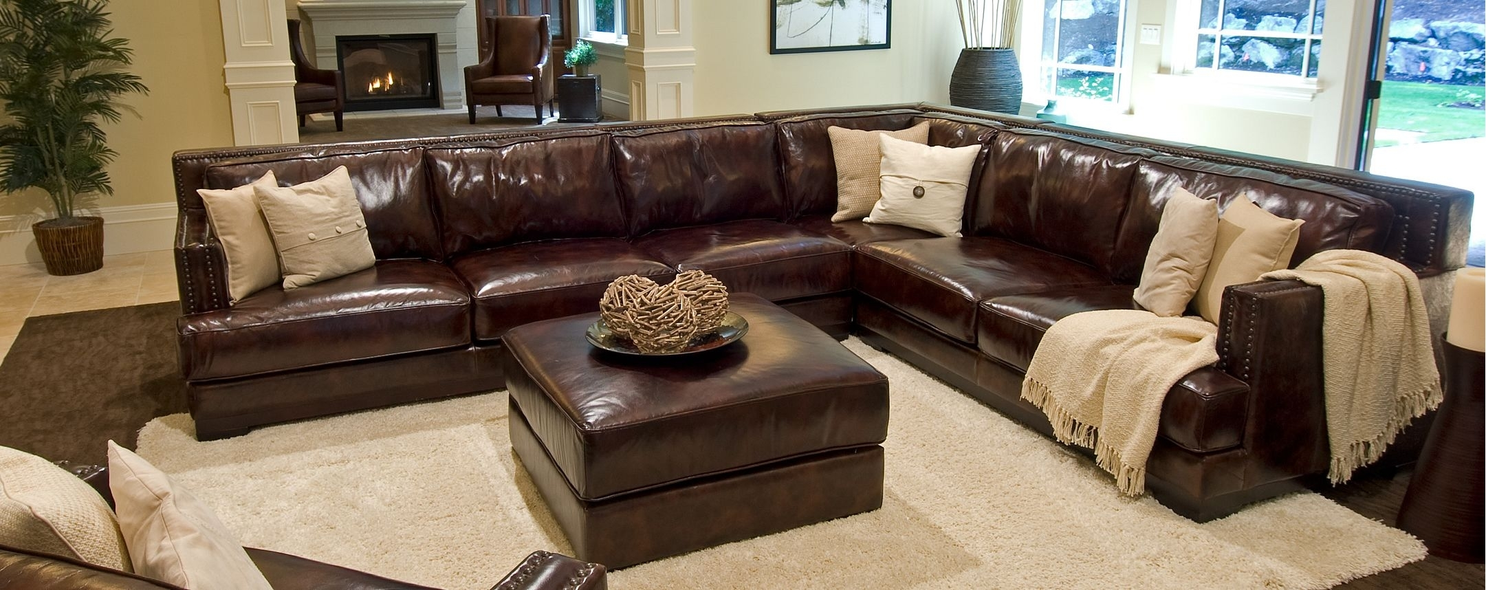 Pinsofascouch On Sofas & Couches | Pinterest | Sofa, Leather With Regard To London Optical Reversible Sofa Chaise Sectionals (View 11 of 25)
