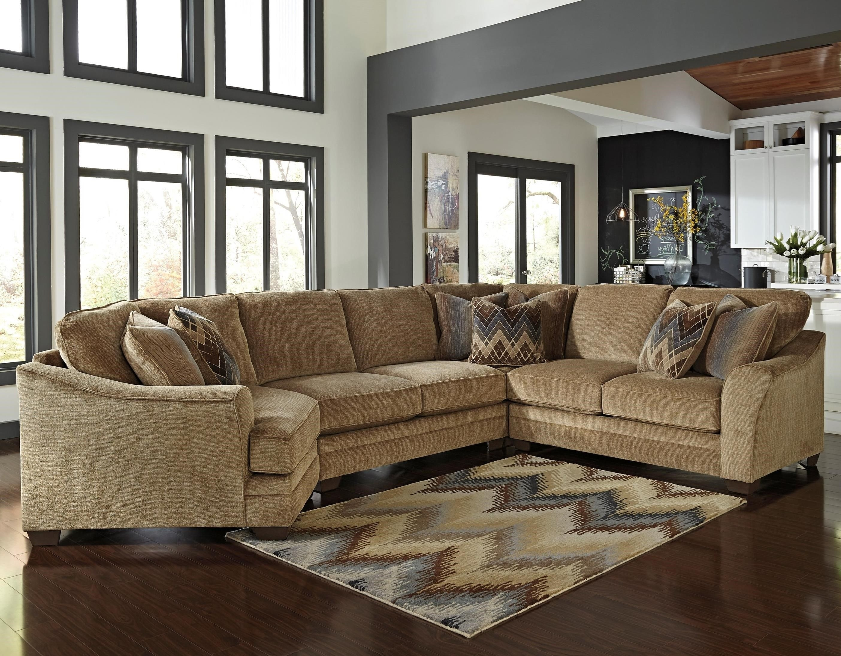 Pintammy Walter On Farmhouse Style | Pinterest | Farmhouse Style For Norfolk Chocolate 3 Piece Sectionals With Laf Chaise (Image 21 of 25)