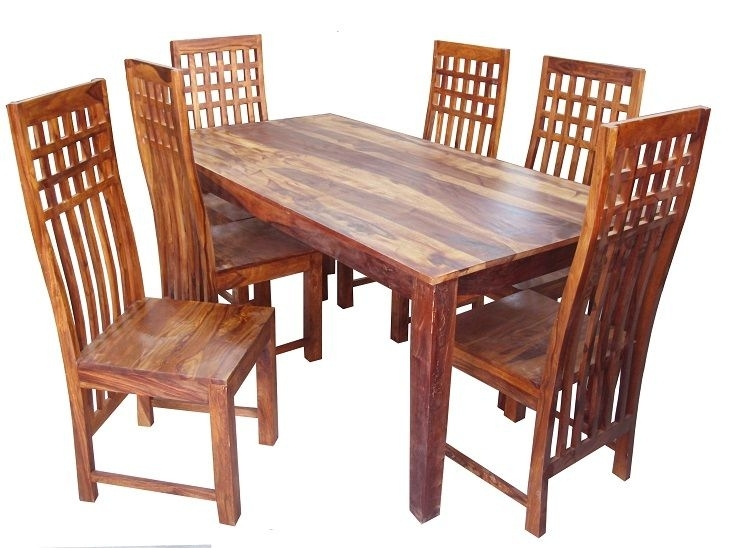 Pinvipul Enterprises On Used Office Furniture For Sale Throughout Sheesham Wood Dining Tables (Image 13 of 25)