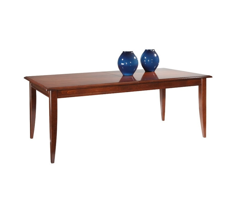 Pisa Dining Table, Solid Beech Selva – Luxury Furniture Mr With Regard To Pisa Dining Tables (Image 11 of 25)