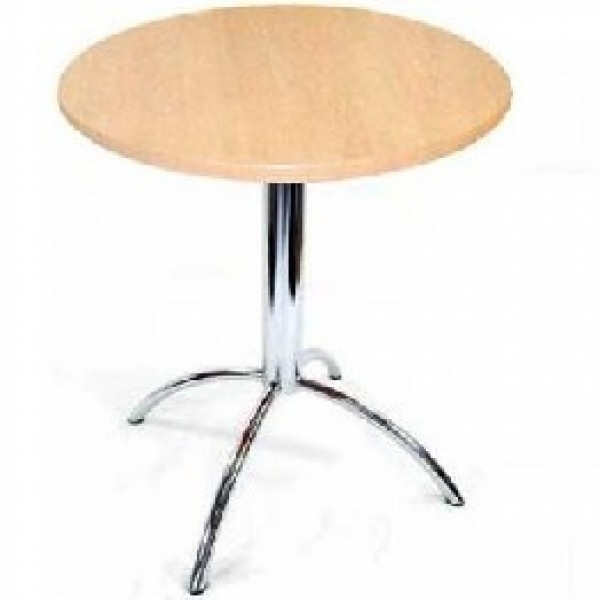 Pisa Small Cafe Table For 2 People 600Mm Square Natural Top For Sale Regarding Pisa Dining Tables (Image 19 of 25)