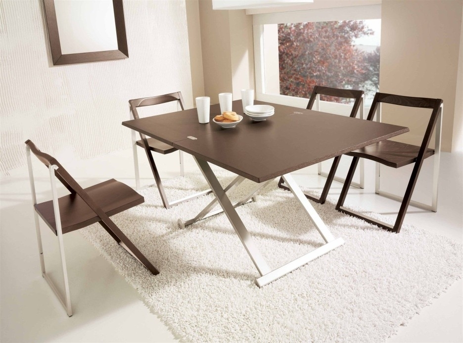 Popular Folding Dining Table And Chairs | Homedcin Intended For Large Folding Dining Tables (View 3 of 25)