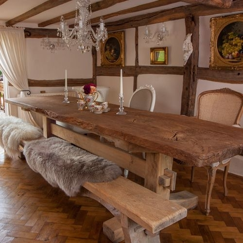 Portwoodstuio's Rustic Oak Dining Table, The Good Girls Oak In Rustic Oak Dining Tables (Image 13 of 25)