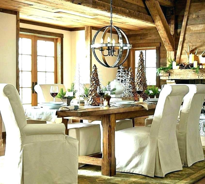 Pottery Barn Kitchen Tables Pottery Barn Round Dining Table Pottery Intended For Dining Tables Lighting (Image 23 of 25)
