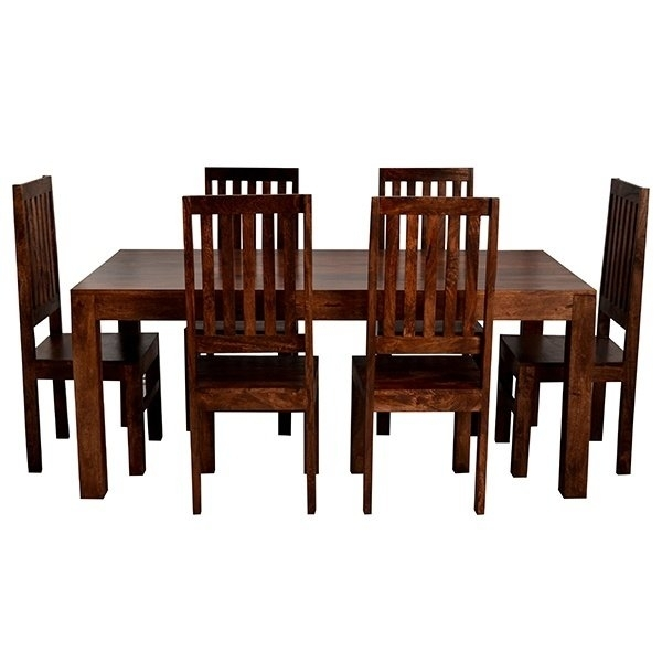 Prestington Hayden Dining Set With 6 Chairs | Wayfair.co (Image 22 of 25)