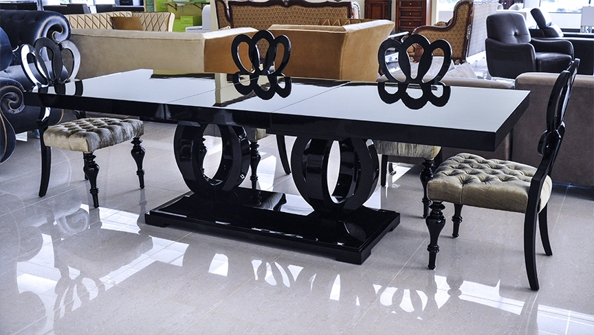Product Printer Friendly Page With Regard To Black Dining Tables (View 8 of 25)