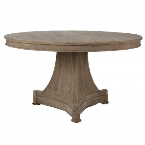 Provence Pedestal Dining Table | Belle Escape Within Provence Dining Tables (Image 17 of 25)