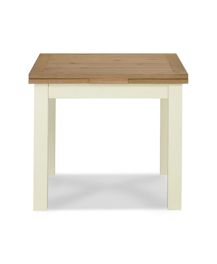 Provence Two Tone 2 4 Draw Leaf Extending Dining Table – Brand Interiors Throughout Provence Dining Tables (Image 19 of 25)