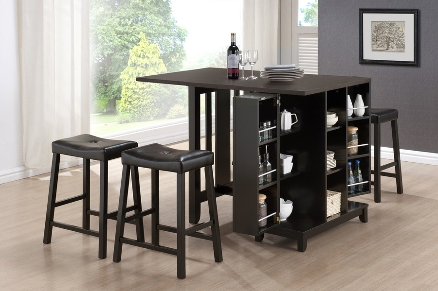 Pub Tables And Stools   Homesfeed With Palazzo 3 Piece Dining Table Sets (Image 24 of 25)