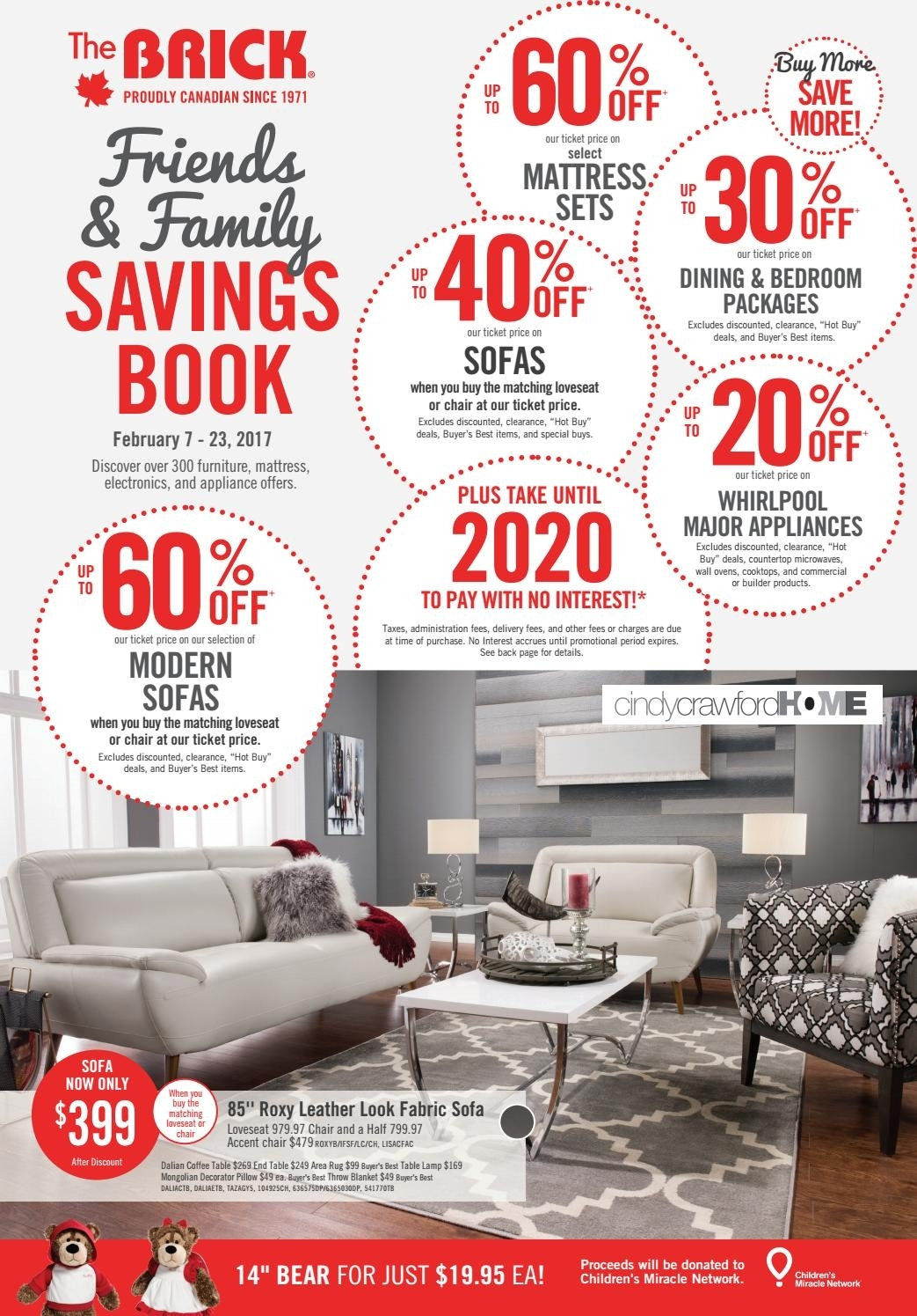 Publisac 2017 Flyer (Brick Wk7 Queen)Salewhale – Issuu With London Optical Reversible Sofa Chaise Sectionals (View 20 of 25)