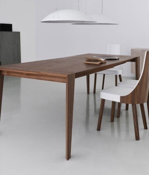 Pulse 175 Extendable Wood Dining Table | Shop Online – Italy Dream Throughout Italian Dining Tables (Image 20 of 25)