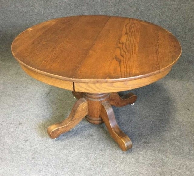 Qualities Of Oak Dining Tables – Home Decor Ideas In Circular Oak Dining Tables (View 5 of 25)
