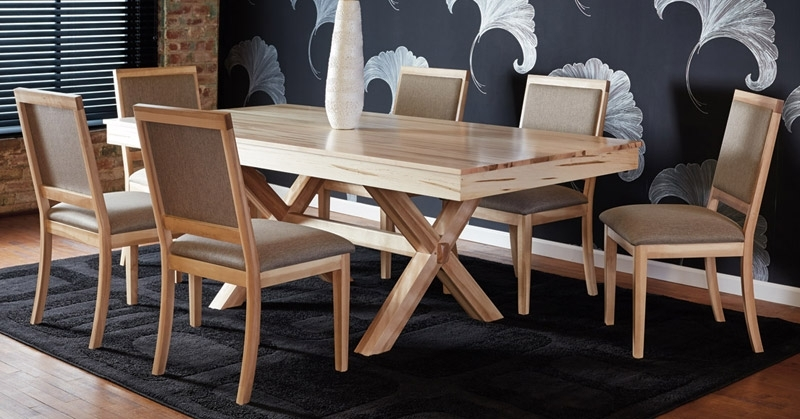 Quality Canadian Wood Furniture: Dining Room With Regard To Laurent 7 Piece Rectangle Dining Sets With Wood Chairs (Image 19 of 25)