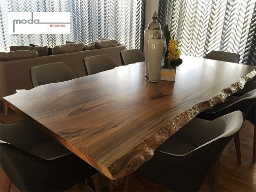 Quality Timber Furniture - Natural Edge Fine Furniture within Perth Dining Tables