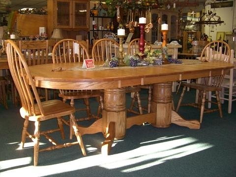 Quality Wood Furniture, Unfinished Furniture Of Leesville, Louisiana! Within Oval Oak Dining Tables And Chairs (Image 22 of 25)