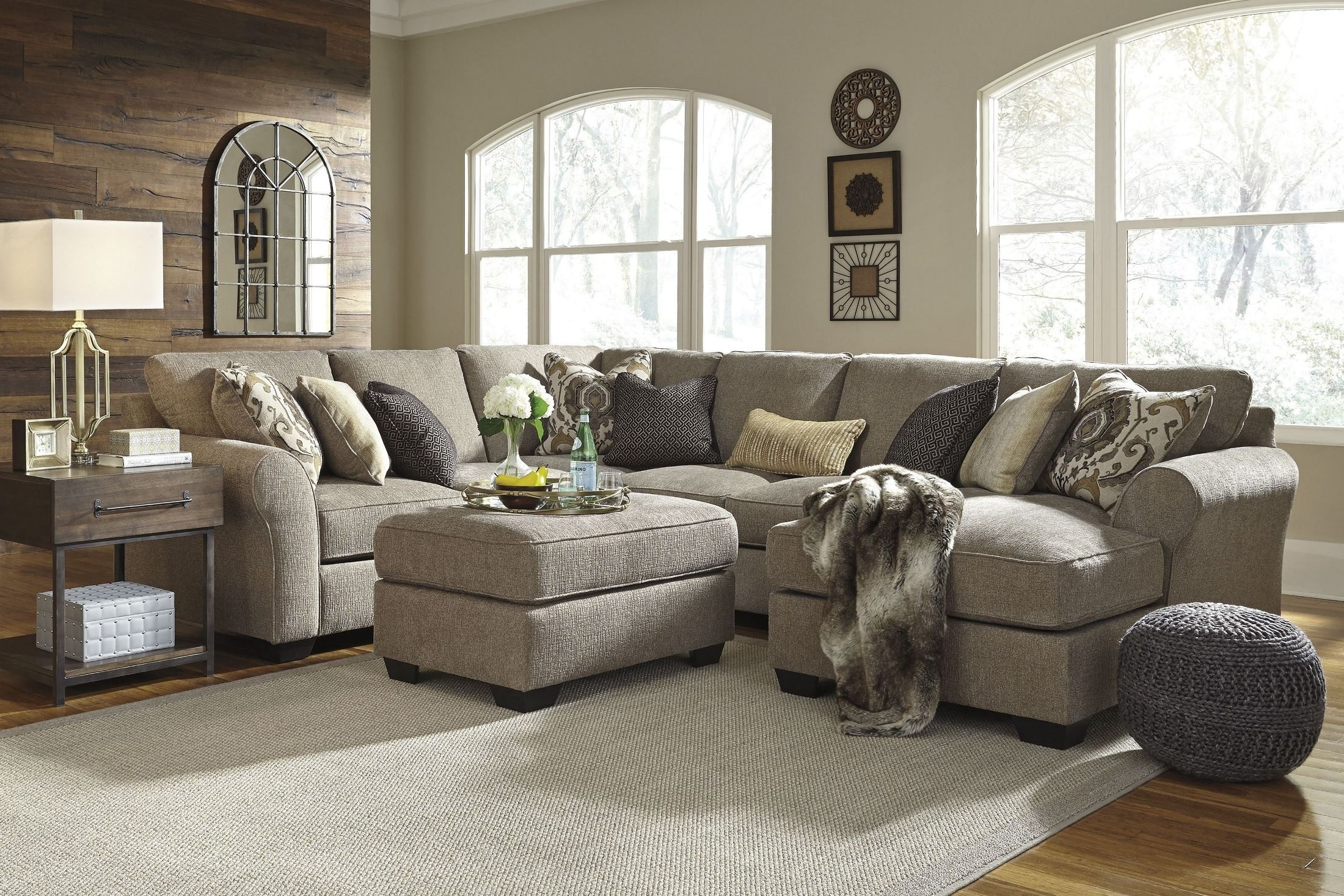 Raf Chaise Laf Sofa | Baci Living Room Throughout Mcdade Graphite 2 Piece Sectionals With Raf Chaise (View 14 of 25)