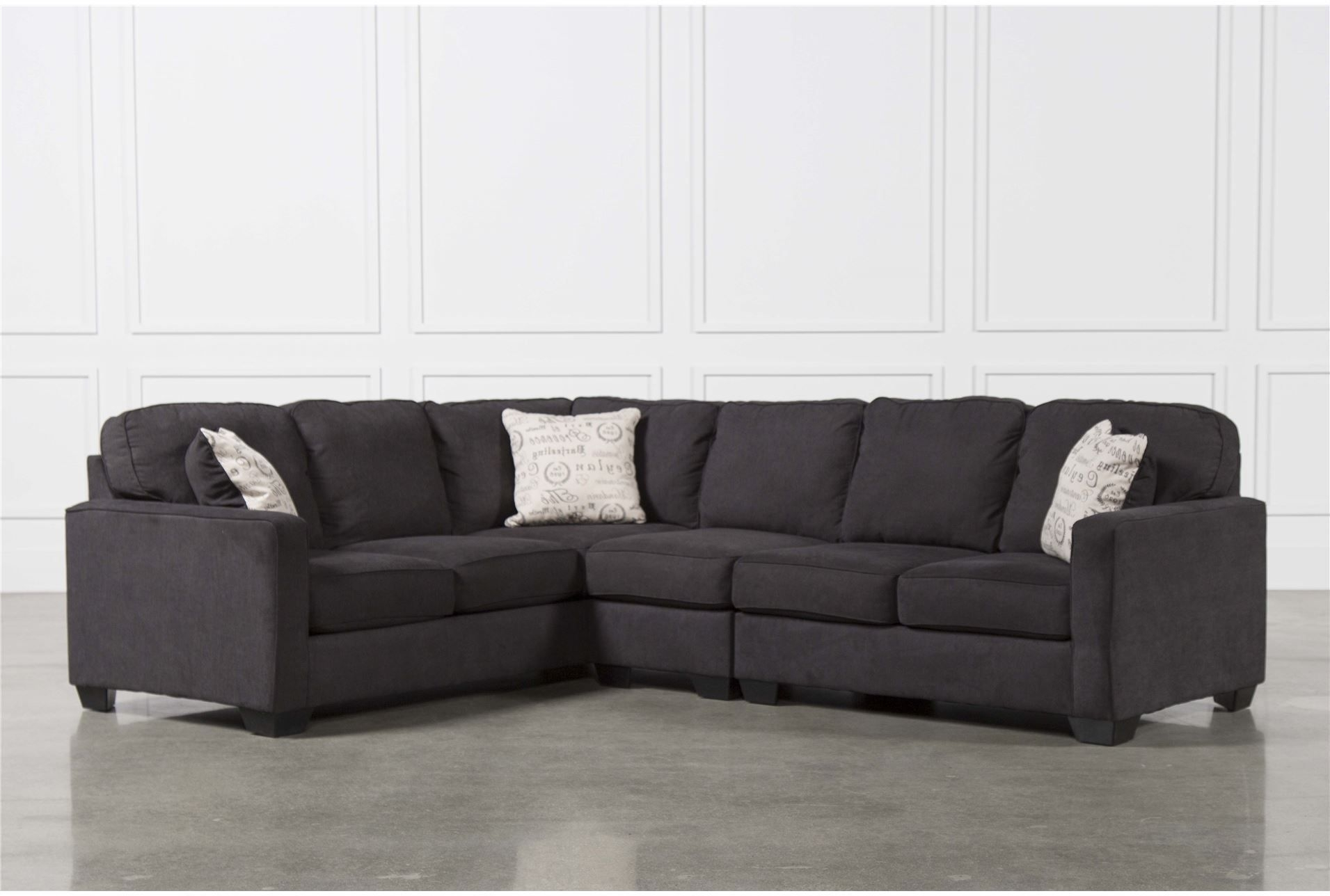 Raf Chaise Sofa | Baci Living Room For Aquarius Light Grey 2 Piece Sectionals With Laf Chaise (Image 12 of 25)