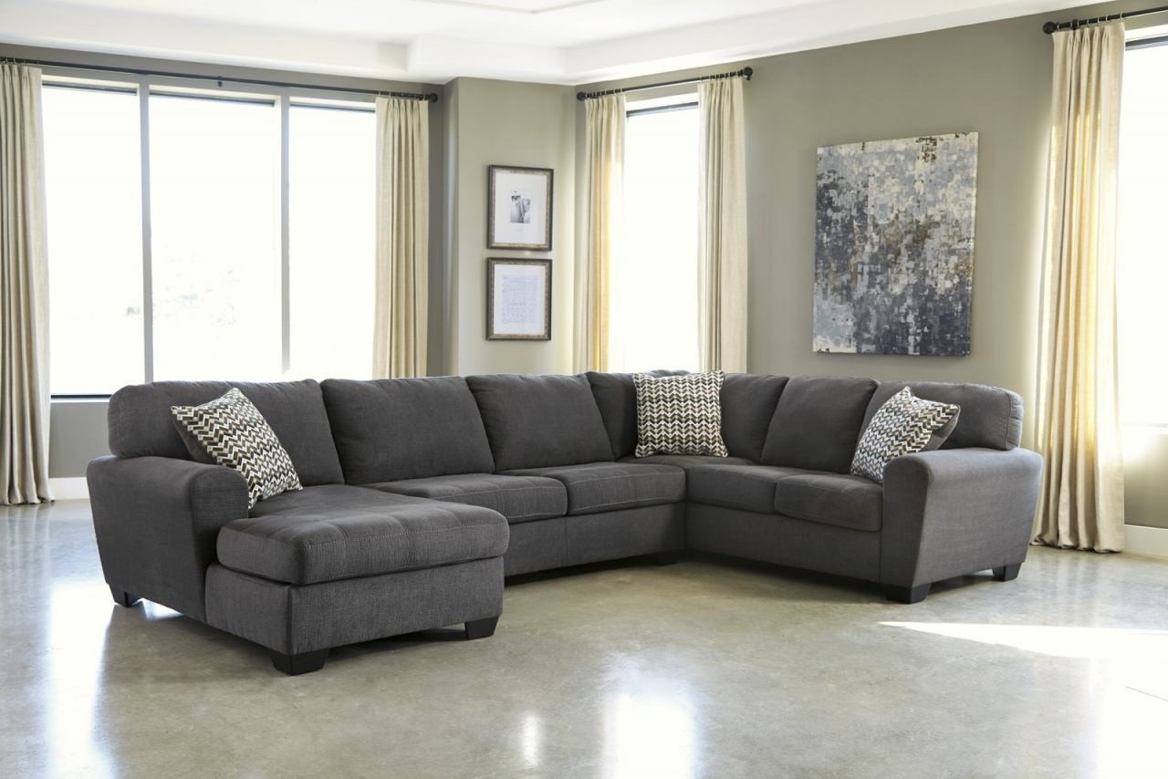 Raf Sectional Turdur 3 Piece W Loveseat Living Spaces 223462 0 Jpg Inside Turdur 2 Piece Sectionals With Raf Loveseat (Image 24 of 25)