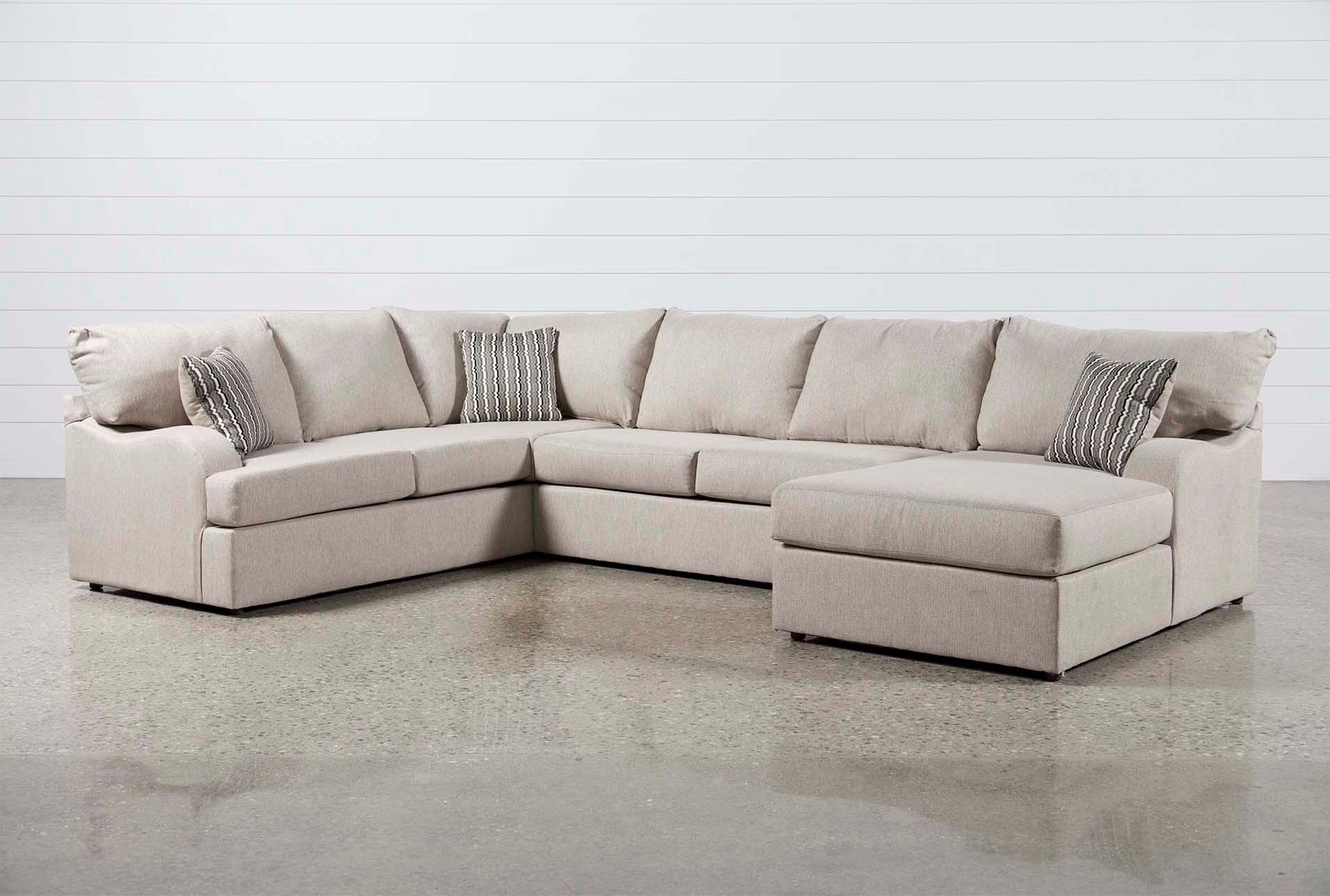 Raf Sectional Turdur 3 Piece W Loveseat Living Spaces 223462 0 Jpg Within Turdur 3 Piece Sectionals With Raf Loveseat (View 2 of 25)