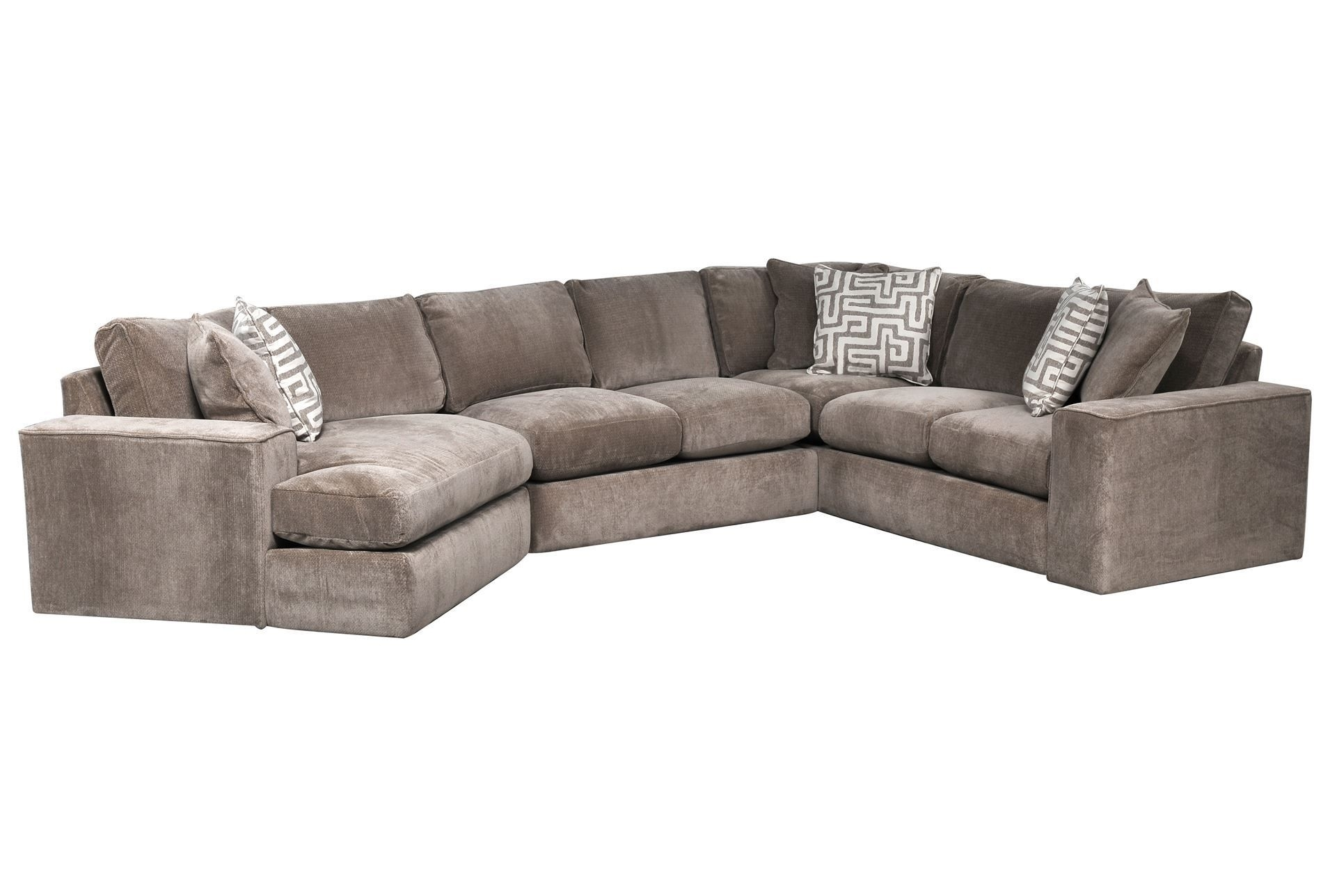 Raf Tux Sofa | Baci Living Room Pertaining To Harper Foam 3 Piece Sectionals With Raf Chaise (Image 16 of 25)