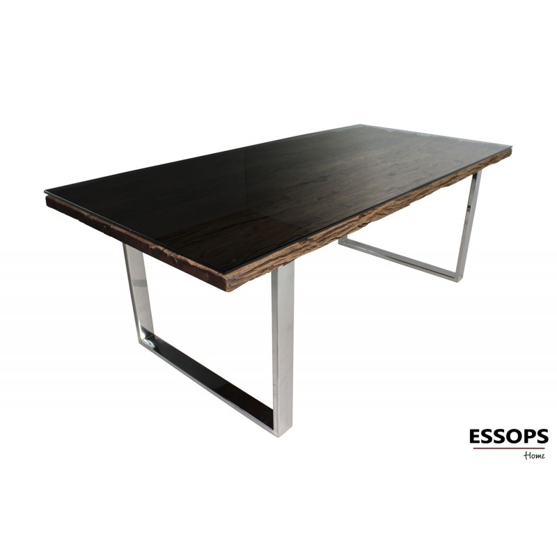 Railway Dining Table With Railway Dining Tables (Image 8 of 25)