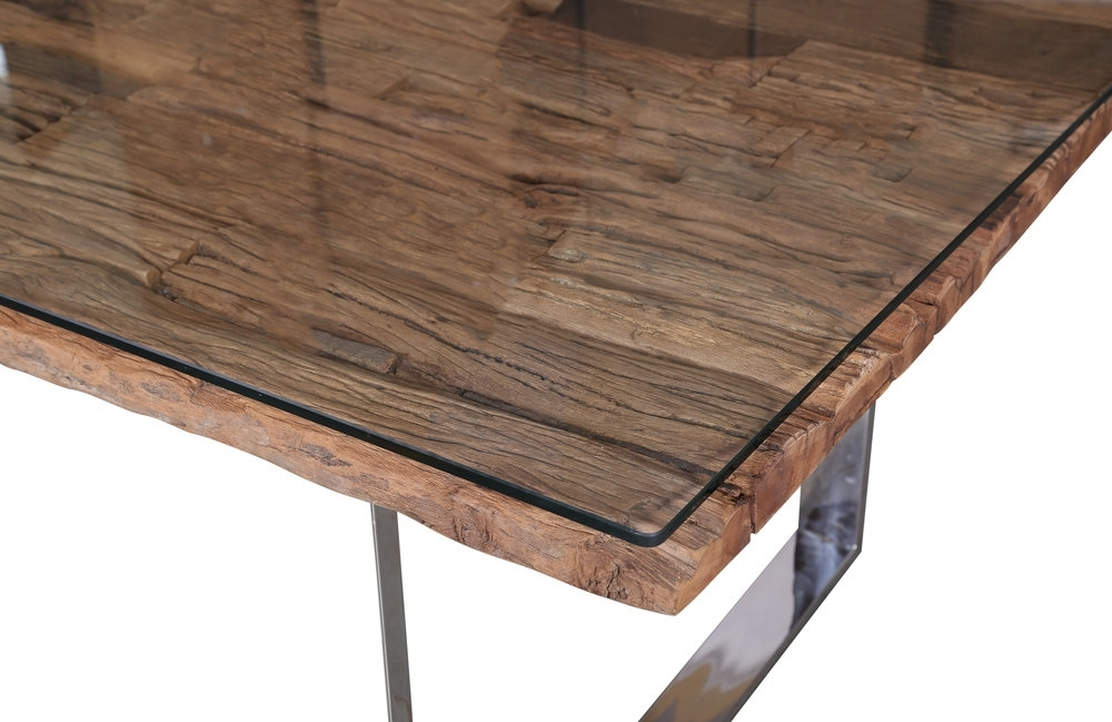 Railway Sleeper — Indus Valley In Railway Dining Tables (View 5 of 25)