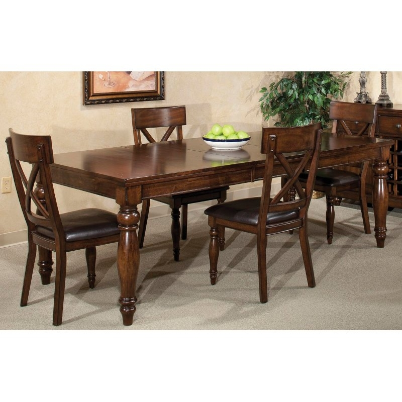 Raisin Dining Table – Kingston | Rc Willey Furniture Store Intended For Kingston Dining Tables And Chairs (View 8 of 25)