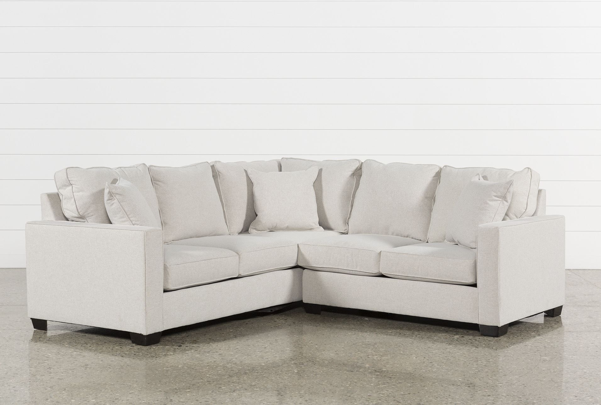 Raphael Ii Flax 2 Piece Sectionalw/raf Loveseat, Beige, Sofas Throughout Marissa Ii 3 Piece Sectionals (Image 12 of 25)