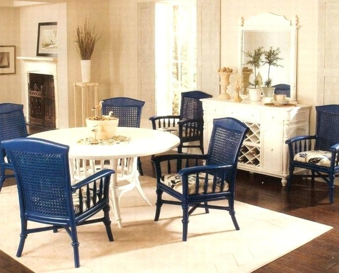 Rattan Dining Room Set Magnificent Wicker Table And Chairs Best Within Rattan Dining Tables And Chairs (Image 12 of 25)