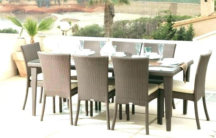 Rattan Dining Table Rattan Dining Table A Chair Set Rattan Dining Intended For Rattan Dining Tables (View 16 of 25)