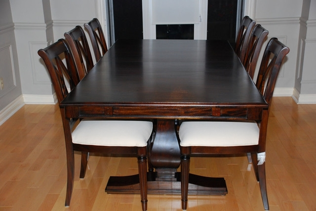 Real Solid Wood Dining Room Tables | Dining Room Table Sets Intended For Wood Dining Tables (Image 18 of 25)