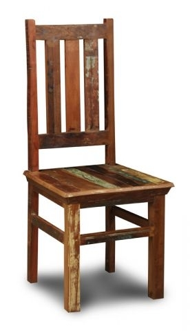 Reclaimed Indian Dining Chair | Trade Furniture Company™ Within Indian Dining Chairs (Image 16 of 25)