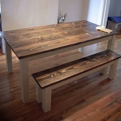 Reclaimed Walnut Dining Table – Northern Rustic In Walnut Dining Tables (View 9 of 25)