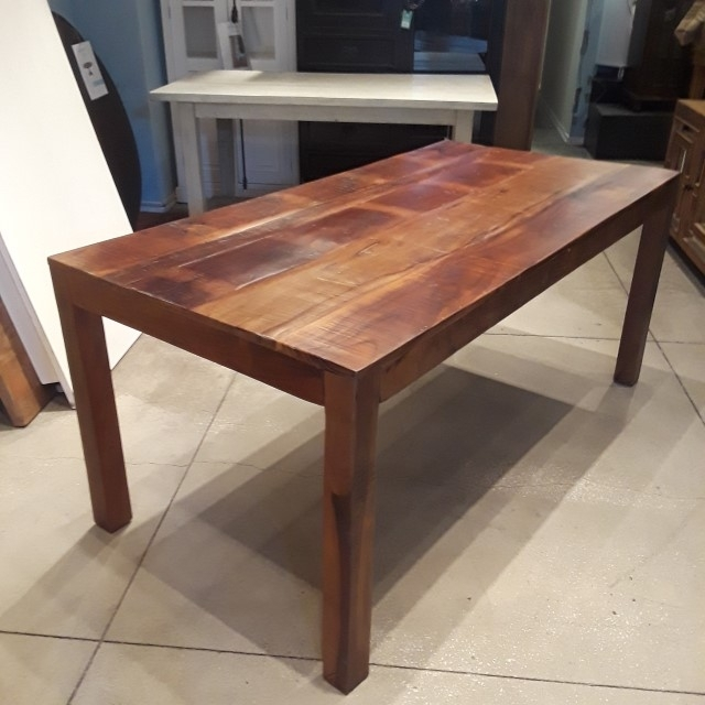 Reclaimed Wood Dining Table – Nadeau Philadelphia Throughout Cheap Reclaimed Wood Dining Tables (Image 15 of 25)