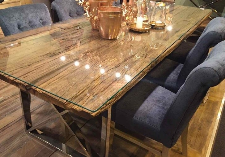 Reclaimed Wood Round Dining Table | Www (Image 21 of 25)
