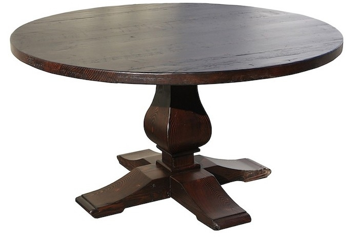 Reclaimed Wood Round Dining Tables Beautiful Round Reclaimed Wood Intended For Oval Reclaimed Wood Dining Tables (Image 18 of 25)